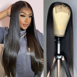 4x4 Lace Closure Wigs Straight_color_wig