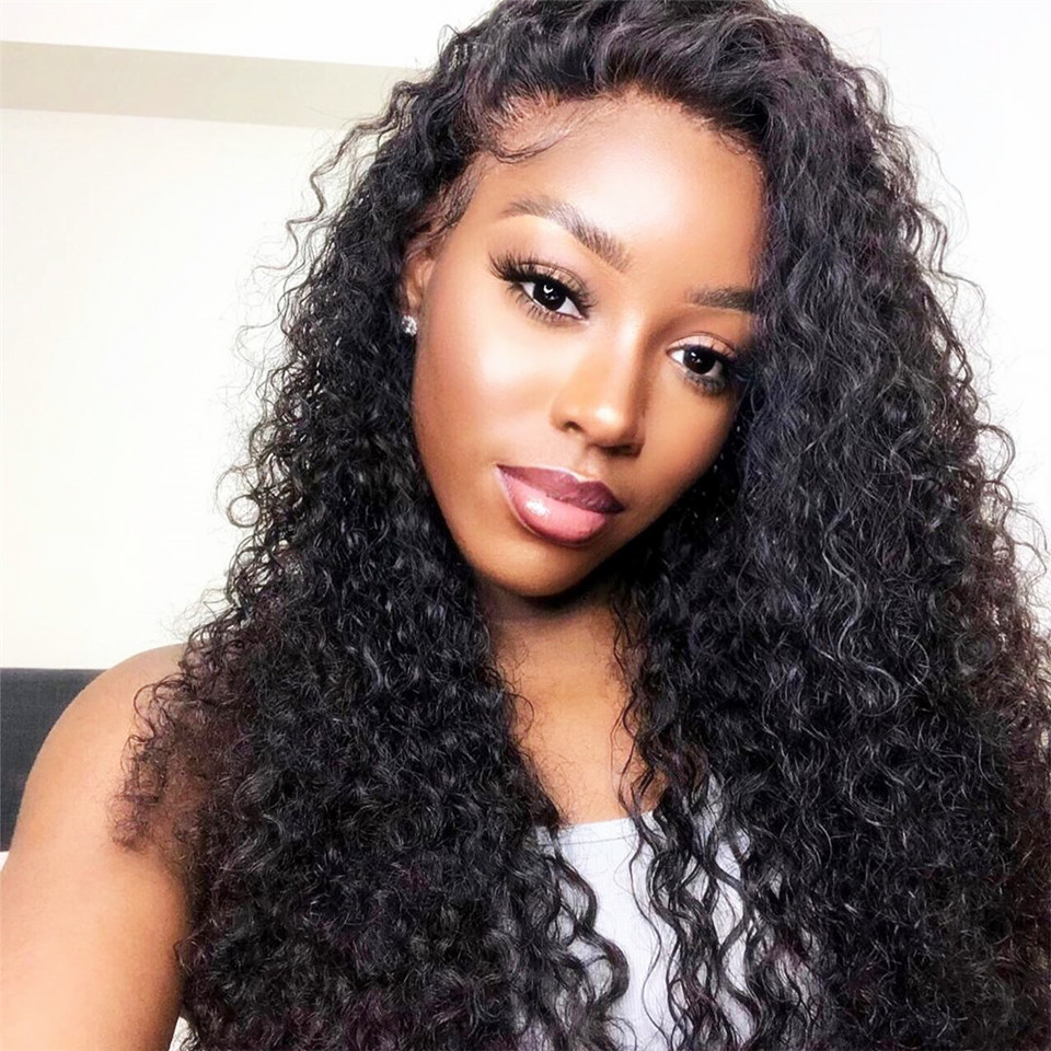Curly Brazilian Lace Front Wig 130%-250%