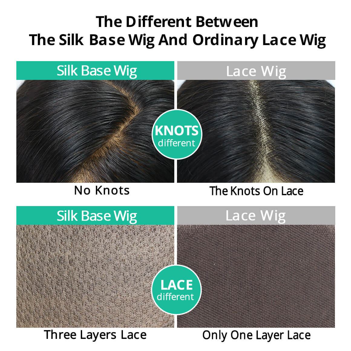 silk vs lace frontal
