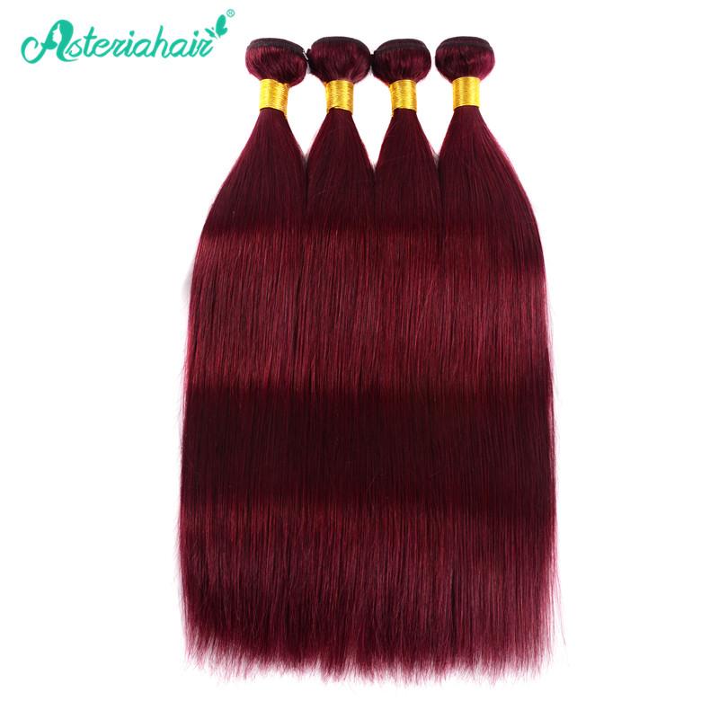 99j Color Straight Hair Bundles Deal 4pcs Full Thick Straight Hair