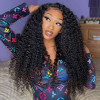 Curly Brazilian Hair Lace Front Wigs For Women