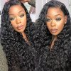 Virgin Brazilian Hair Weave 3 Bundles With 13*4 Lace Frontal Closures Natural Wave