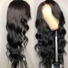 Body wave Lace Front Wigs Natural Black 130%-250% Density
