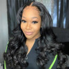 6x6 Closure Wigs 16-30in Body Wave Wig Real Human Hair Wigs