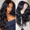 Body Wave Closure Wig 5x5 Lace Closure Wigs For African American Women