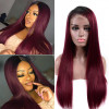 Asteria Straight Lace Frontal Colored Wigs