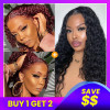 2 Wigs Pack Deal-PreColored 99J Lace Wigs
