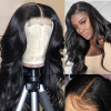 Body Wave 4X4 Lace Closure Wigs 180% Density Affordable Human Hair Wigs