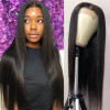 6x6 Lace Closure Wig 100% Virgin Human Hair Straight Closure Wigs