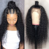 Asteria Hair Curly Full Lace Wigs 180% Density Real Hair Wigs