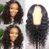 Brazilian hair Loose Deep Lace Front Wig 130%-250% Density For Women