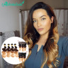 Ombre Color 1B/4/27 Body Wave 4 Bundles With 13*4 Lace Frontal
