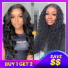 2 Wigs Pack Deal-Straight Body Wave and Water Wave Lace Wigs