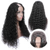 U Part Wig Water Wave Hair U Part Wigs For Women