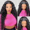Natural Wave Lace Front Wigs 14-24in Water Wave Wigs For Women