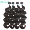 100% Virgin Hair Natural Black Peruvian Body Wave Hair 8-30 Inch For Selling