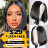Flash Sale-Straight Hair U Part Bob Wigs