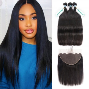 13*6 Lace Frontal Straight Frontal