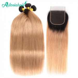 1B/27 Hair Color Human Hair