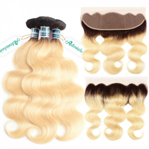 1b/613 Blonde Body Wave Hair