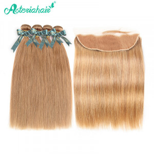 Straight Hair Bundles 4PCS