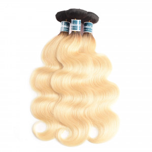 1b/613 Blonde Body Wave Bundles