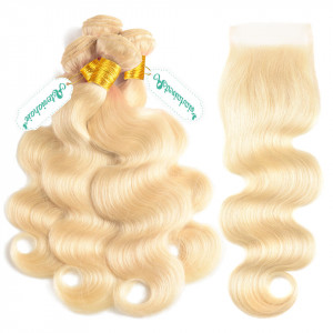 Body Wave 613 Blonde Hair Deal