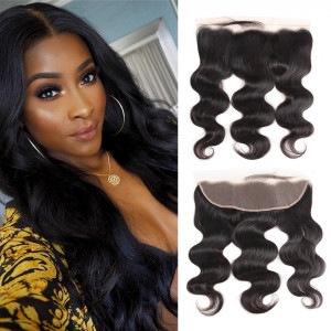Body Wave Bunldes With Frontal