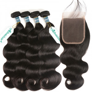 Bundles With Closure 4x4 Deal