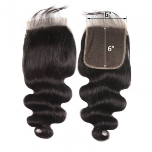 Body Wave Closure 6x6 Closure