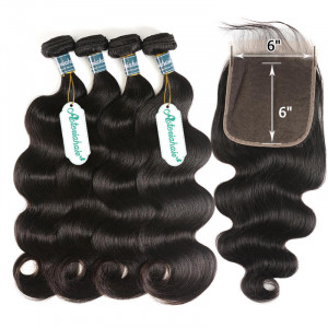 Body Wave Closure With Weave Bundles