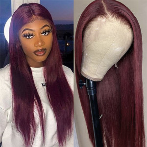 Colored Straight Wig
