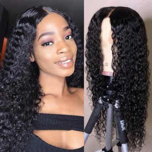Curly Hair Closure Wigs