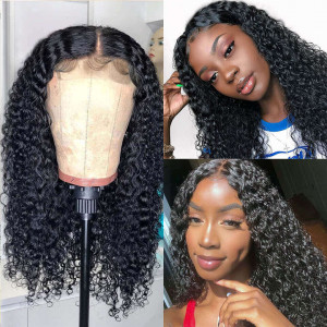 Curly Wig Closure Wig