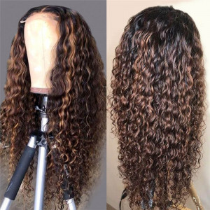 Highlights Wig Water Wave Wig