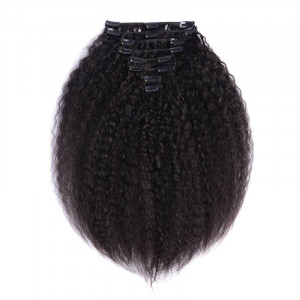 Clip In Hair Kinky Straight Hair