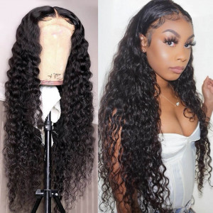 loose deep 4*4 closure wig