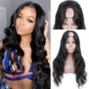 U Part Wig Body Wave Wig