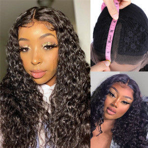 Water Wave Middle Part Wig