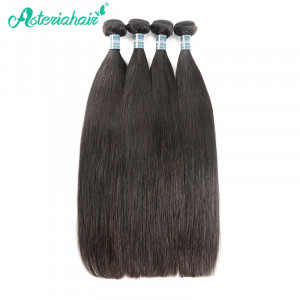 Malaysian Straight Human Virgin Hair with 4pcs/Pack