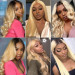 blonde lace wigs