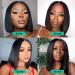 Different Length Bob Wig Look