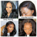 Body Wave Invisible Lace Wigs