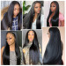 silky straight wigs