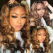 Piano Hair Color Lace Part Wig