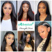 straight closure wig for women