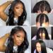 U Part Wig For Black Women