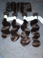 Ordered hair Friday and it came Wednesday mor