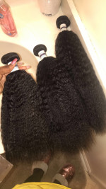 This hair is amazing. Super thick, full an so