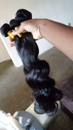 Hair is really soft, minimum shedding, no mat